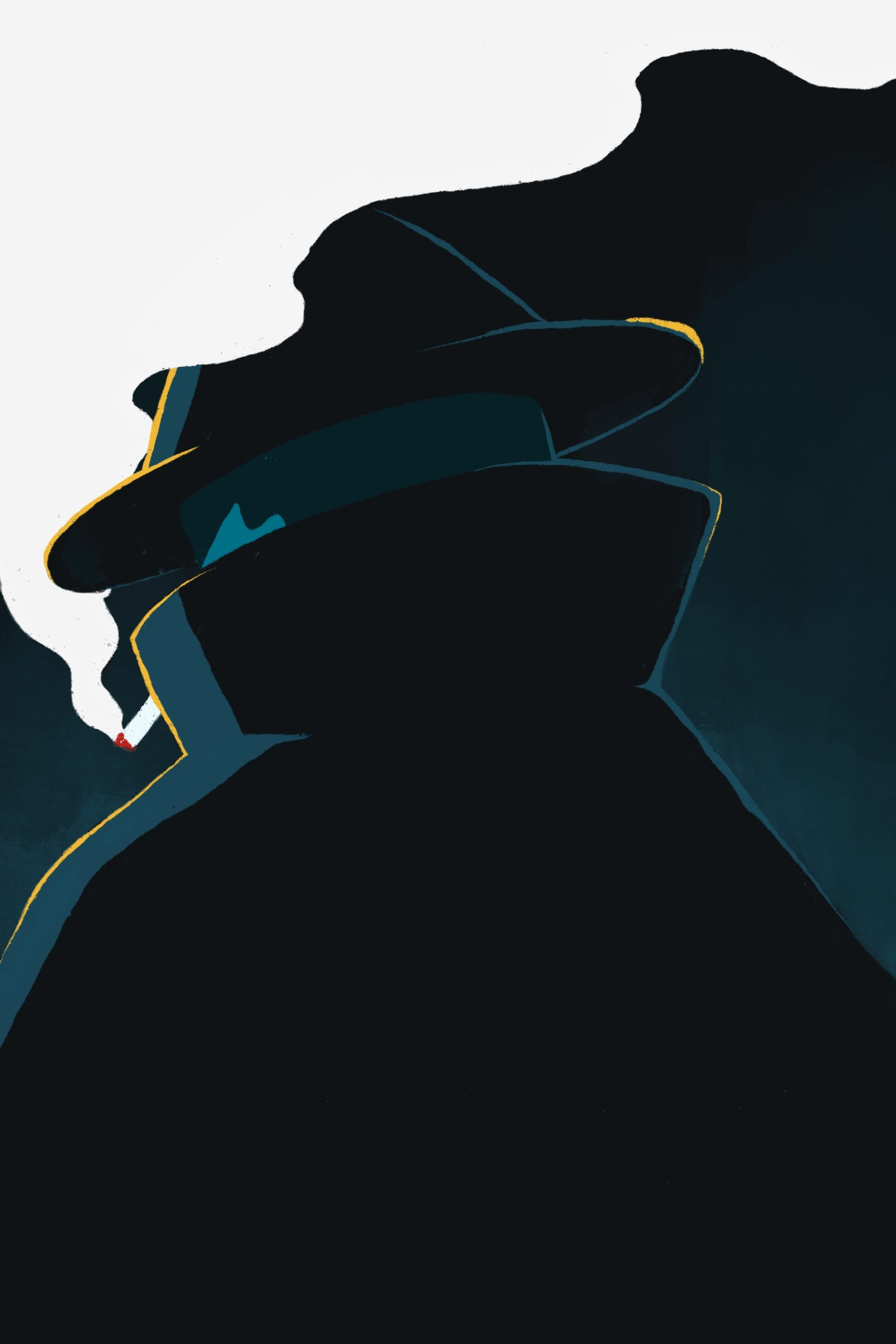 leeds illustration detective crime noir illustrator